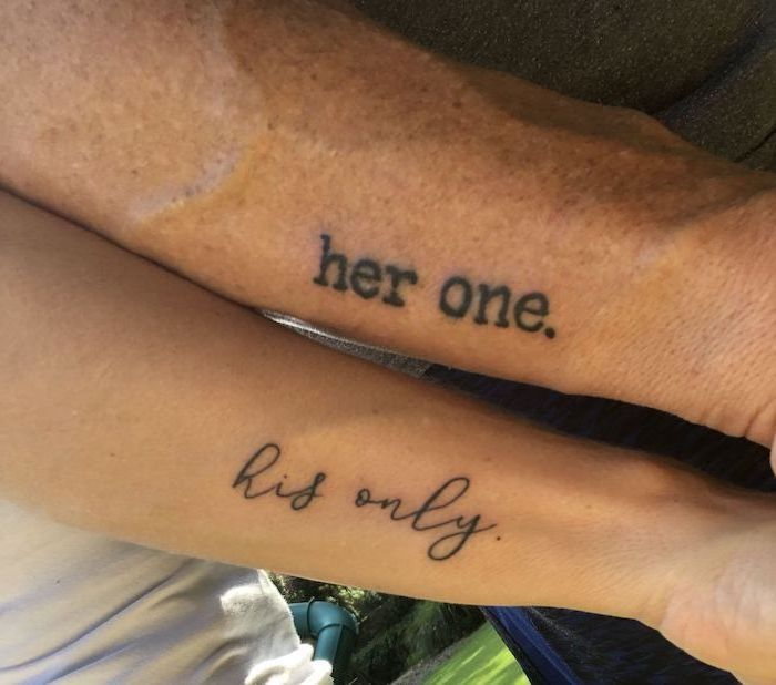 The Meaning Behind His and Her Tattoos for couples