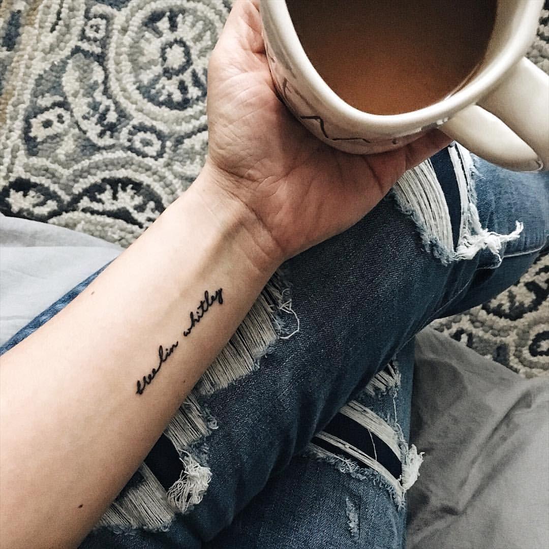 Script Tattoo Ideas – A Few Great Script Tattoo Ideas For all