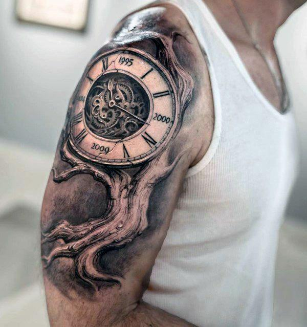 Stunning Upper arm tattoo collection