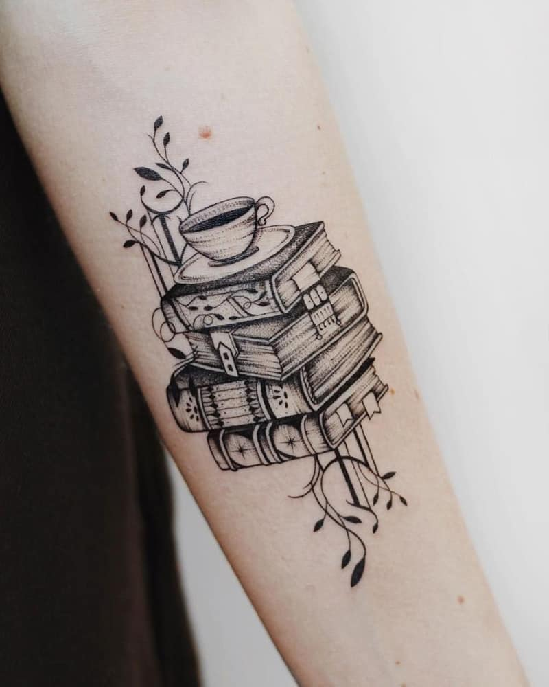The Top Book Tattoo Design Ideas For Body Art