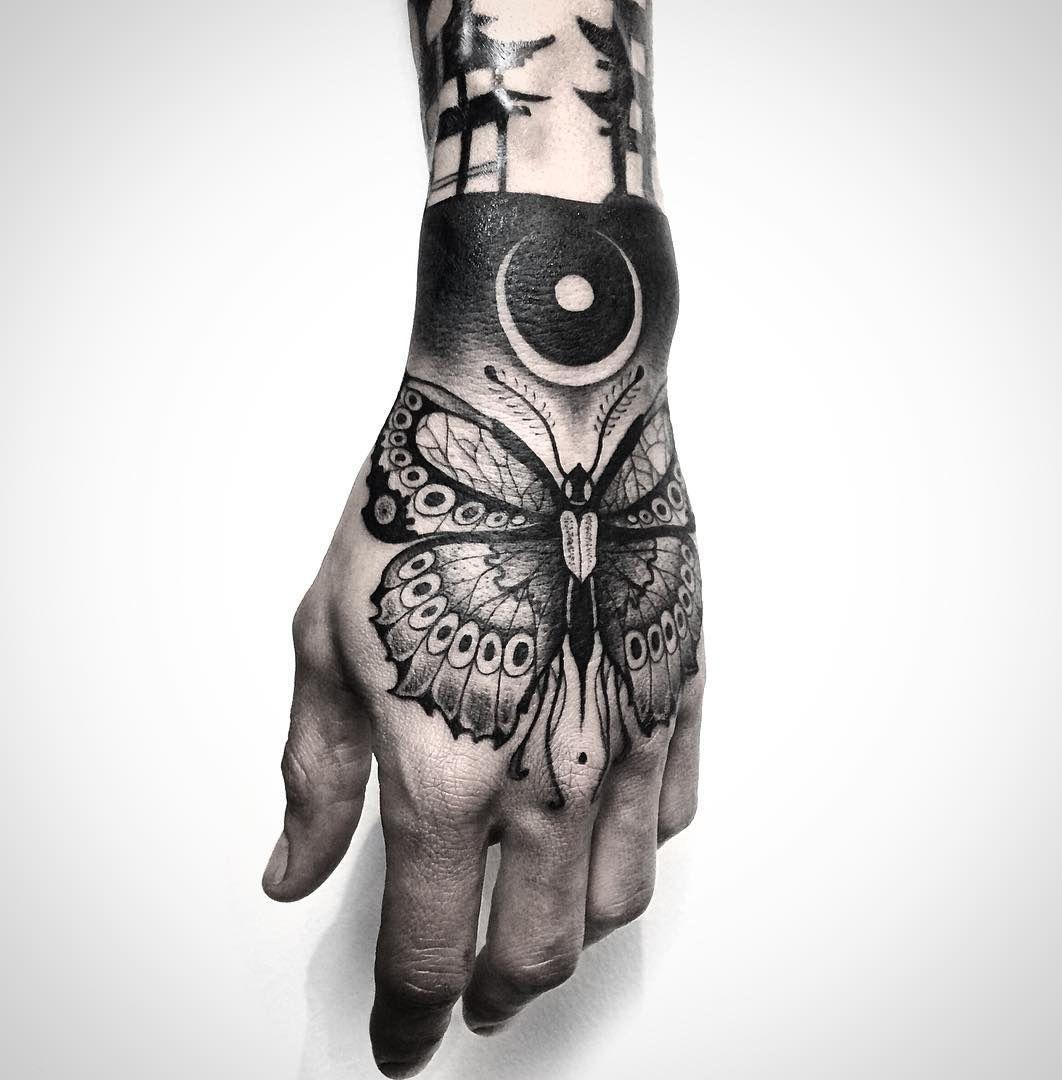 Top 4 Best butterfly hand tattoo Design Ideas for Women