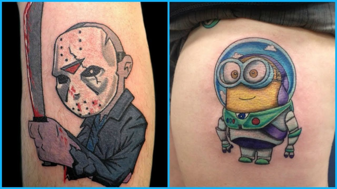 How to Find Cartoon Tattoos That Are Perfect For Girls