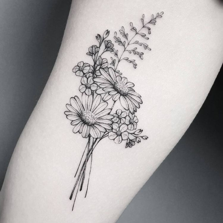 Floral Tattoo Design Ideas – How to Find the Best Flower Symbolized Tattoos