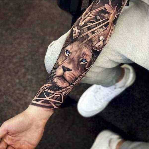 Thinking of a Lion Forearm Tattoo? A Few Things to Consider!