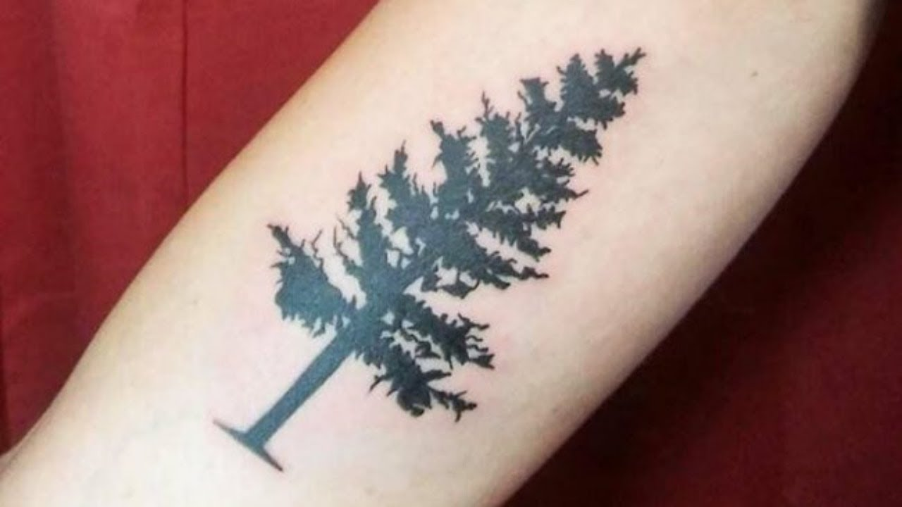 Pine Tree Tattoo Design – Are You Going to Get a Small Or Large Pine Tree Tattoo?