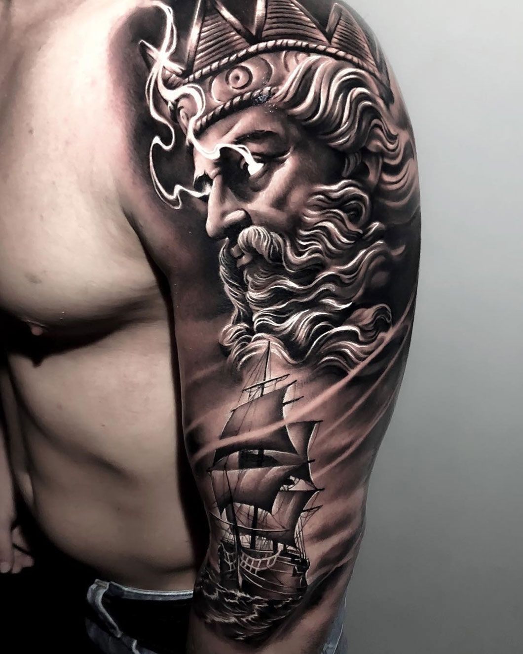 Poseidon Tattoo Design – Three Reasons Why This One Is Great For Modern Tattoos