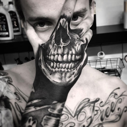 Skull Hand Tattoo Ideas – Skulls Are Great For Any Type of Tattoo Design