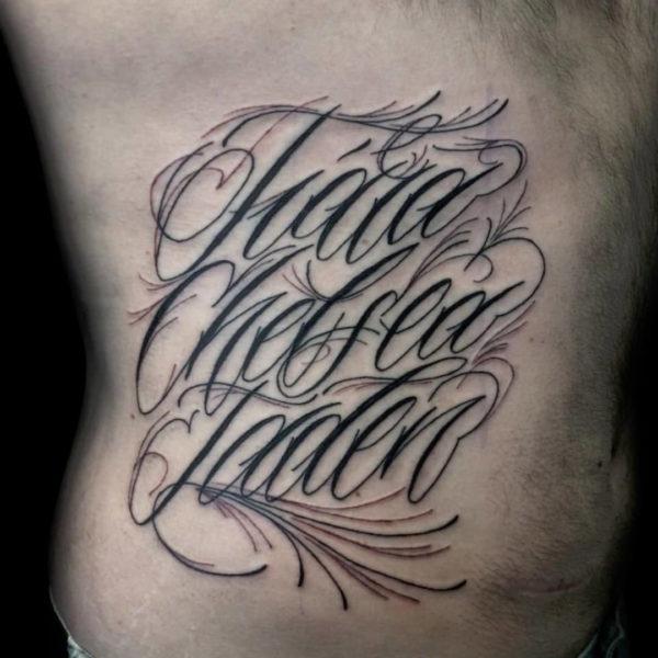 Tattoo Cursive Letters – Small Tattoo Design Idea