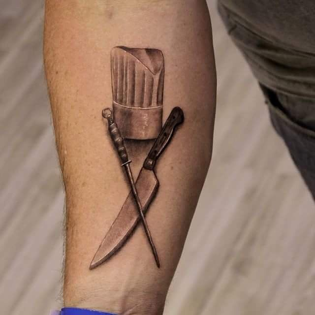 Some Great Ideas For Chef Tattoos