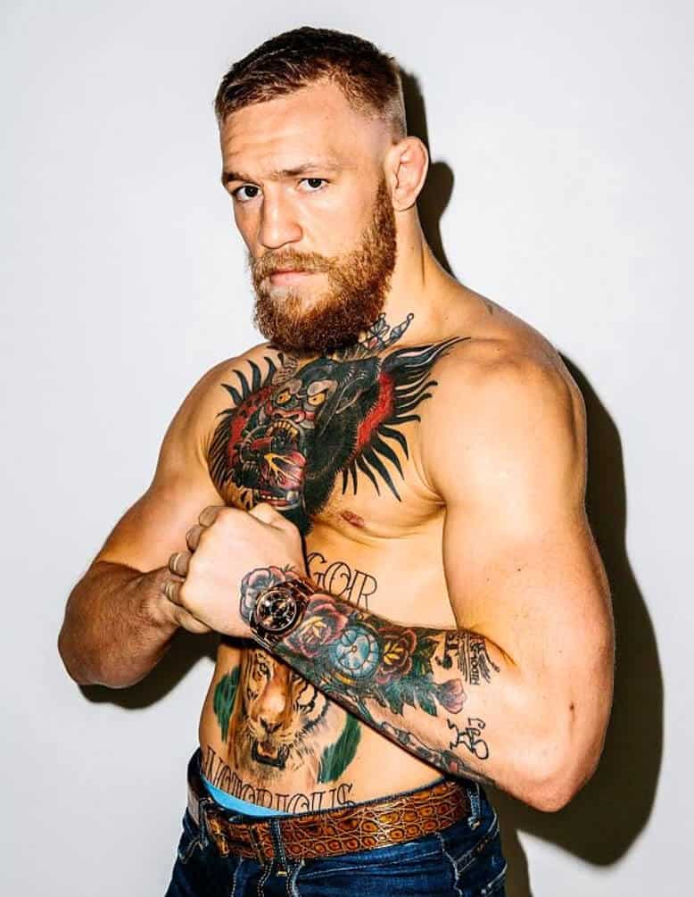 Top 5 Unique Conor Mcgregor Tattoo Design Ideas for Small Tats