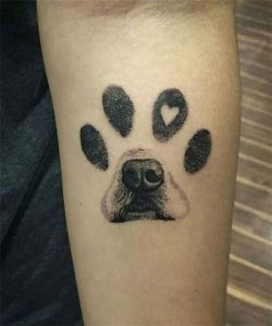 Best Tattoo Design Ideas and Symbolical Representations of Dogs