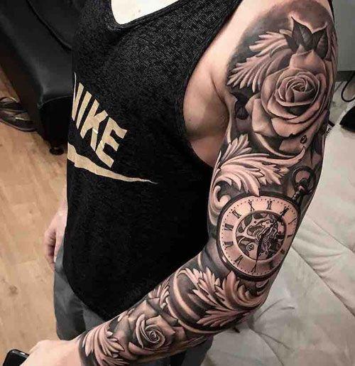 Half Sleeve Tattoo Design Ideas For Men
