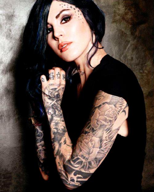 Kat Von D Tattoos – Creativity in A Tribute To Tattoo Artistry