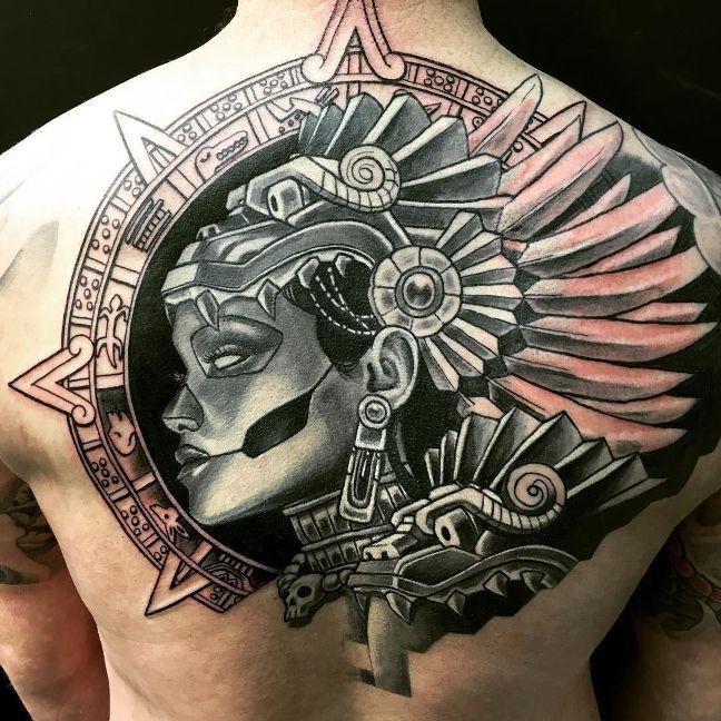 The Best Tribal Mayan tattoos Ideas