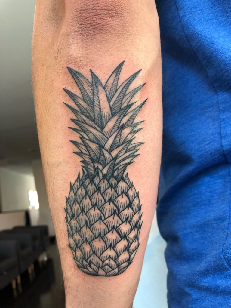 3 of My Favorite Pineapple Tattoo Design Ideas