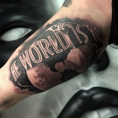 Tattoo Designs – The World Is Yours