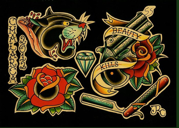 Traditional Tattoo Flash Artwork – Find the Best Meaning For Your Tattoo Today