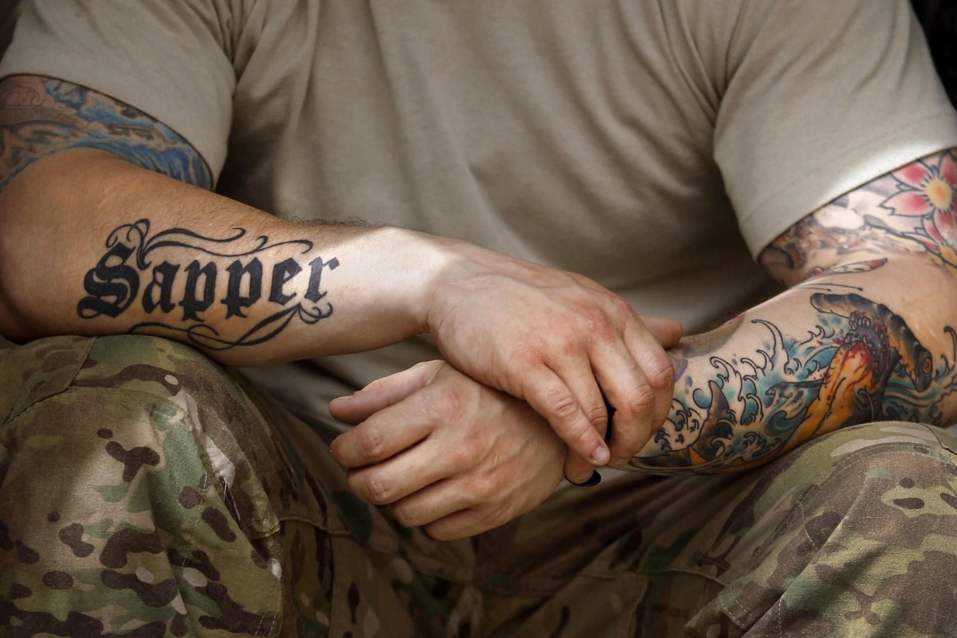 Top 3 Ideas For Small Picture designs of a Soldier Tattoo