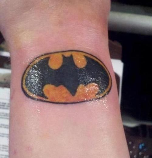 Amazing Batman Logo Tattoo Meaning