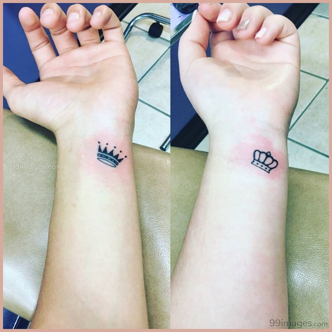 Know The Meaning Before You Get Crown Tattoo On Wrist