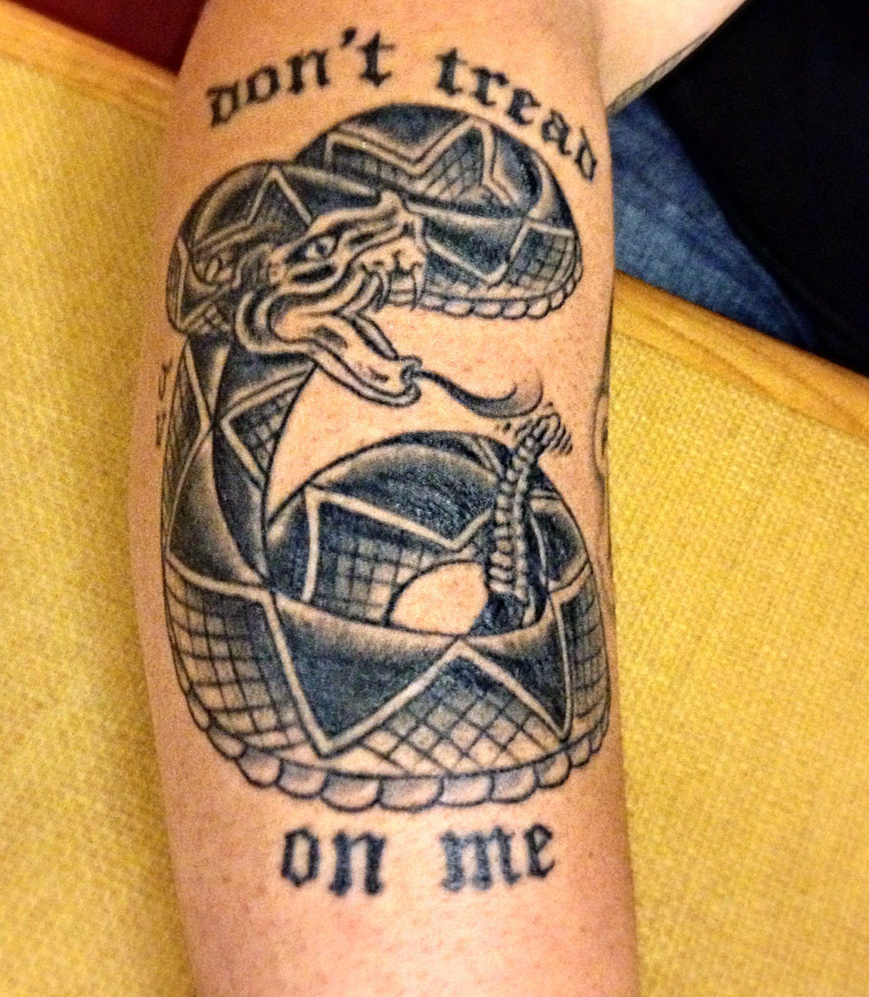 Top Tattoos Ideas That Don't Tread on Me Tattoo!