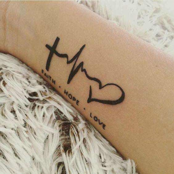 Faith Hope Love Tattoo Design – Tattoos That Express Your Preference