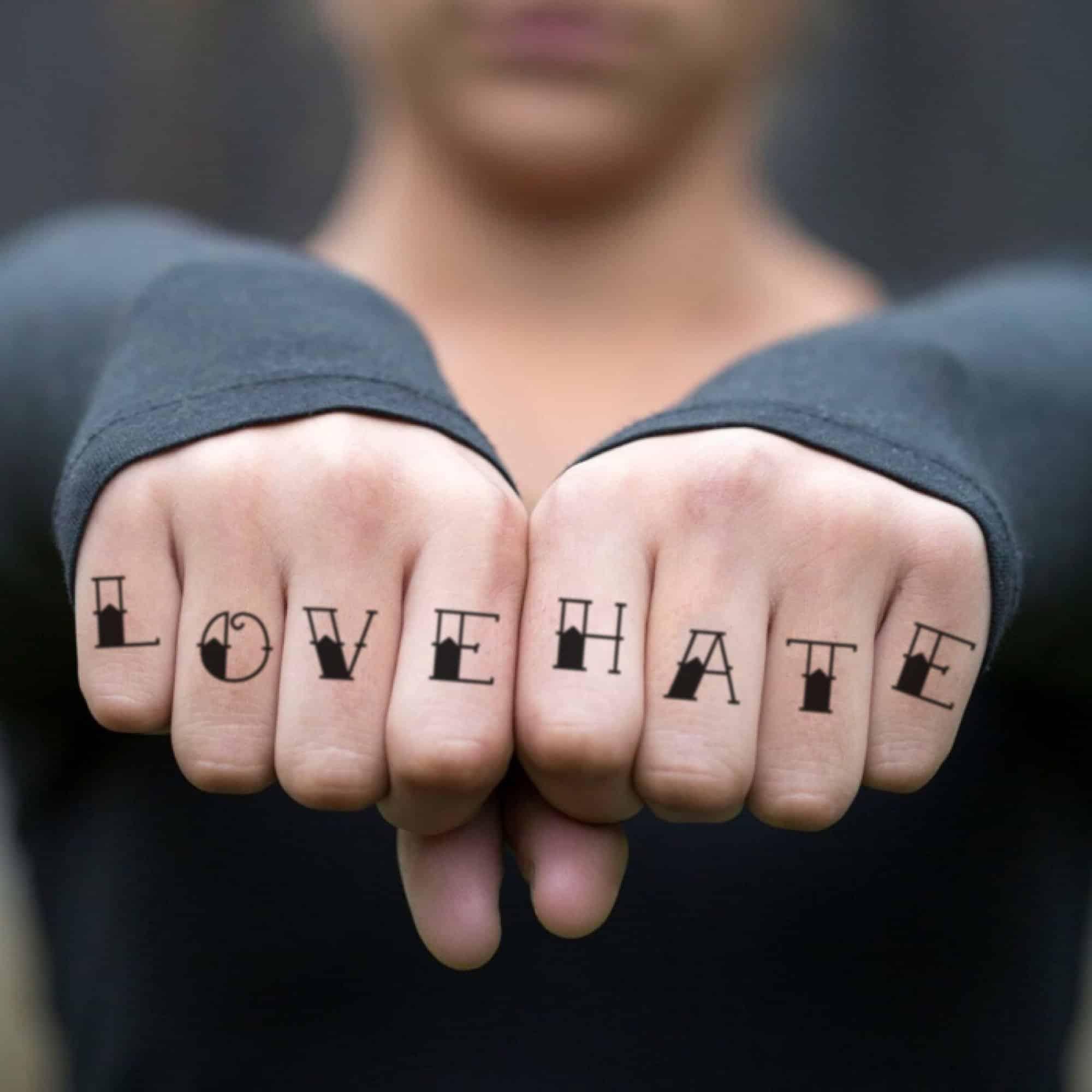 4 Finger letter Tattoos design Ideas For Your Body