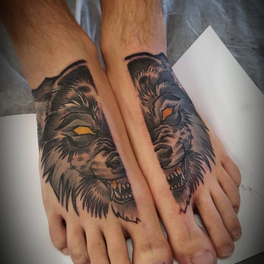 Check out these Foot Tattoo for Men Ideas