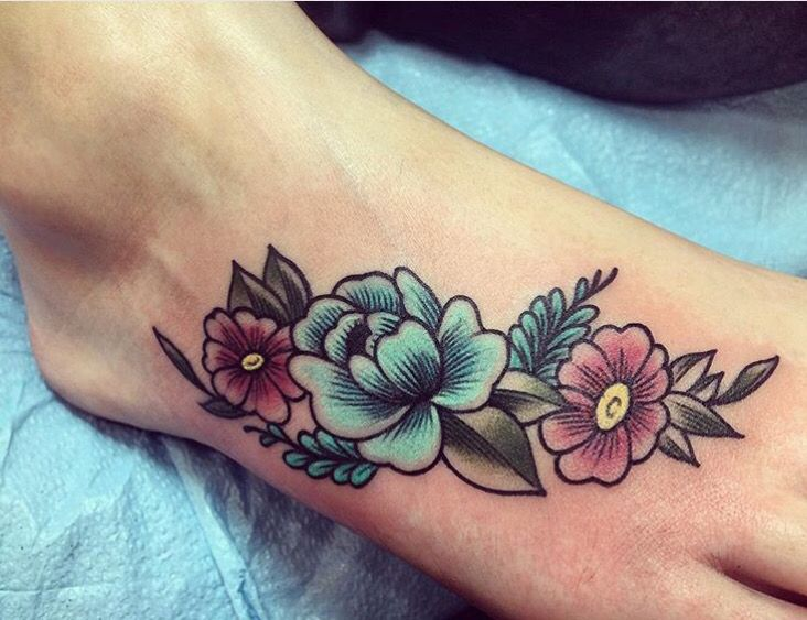 Foot Tattoos For Girls – Finding the Perfect Foot Picture design For Your Pictures