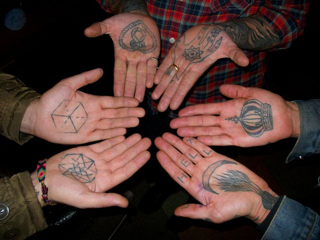 Hand Palm Tattoo meaning – Find Your Small Tattoo Now