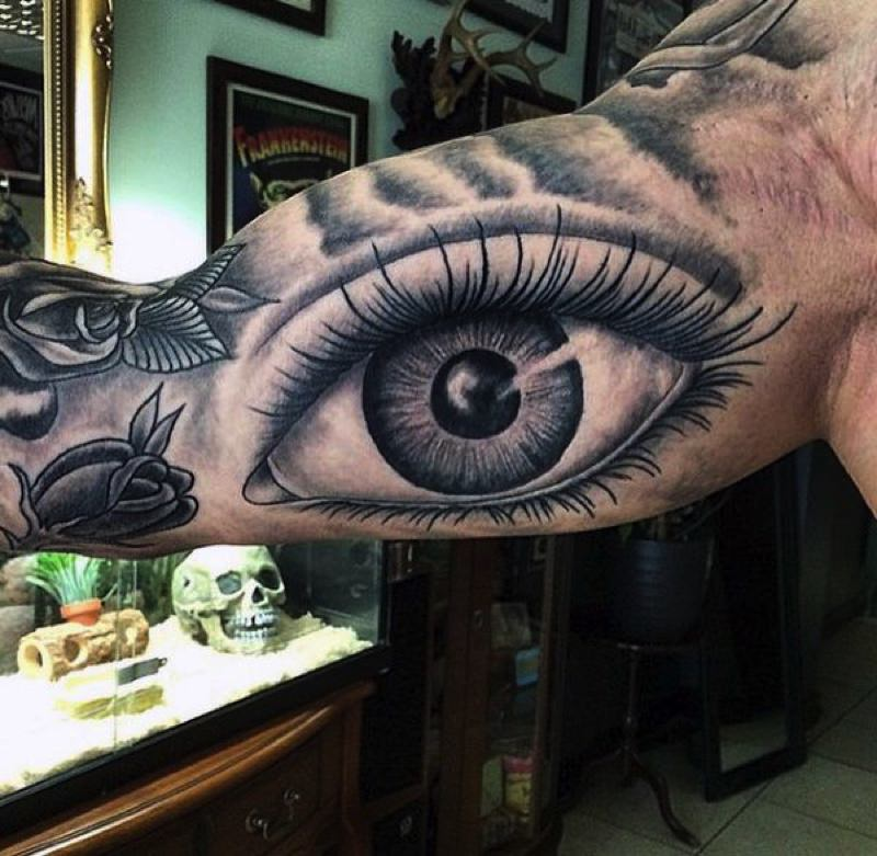Get Ideas For Inner Bicep Tattoo Pain