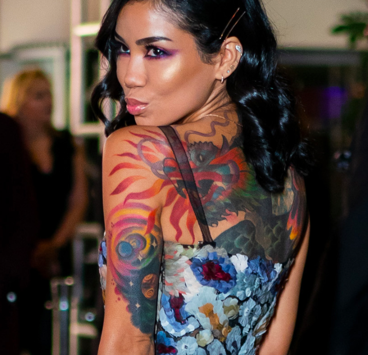 Jhene Aiko Tattoos – Quality Small Tattoo Designs At An Affordable Price