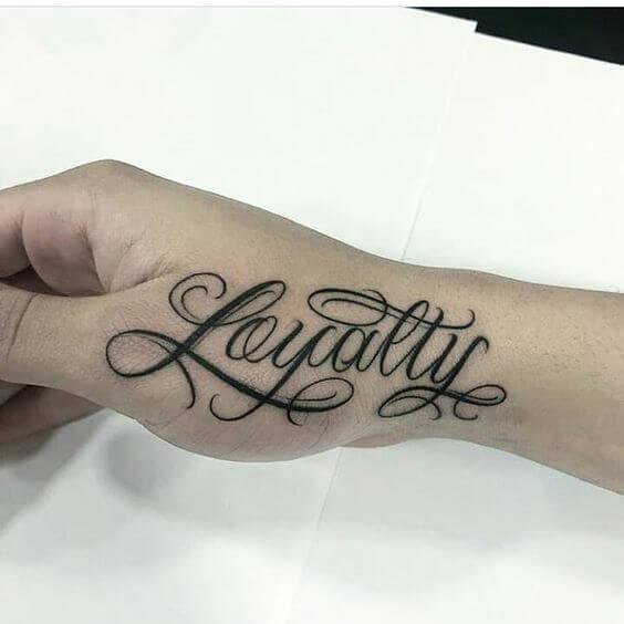 Choose Favorite Loyalty Tattoo Ideas