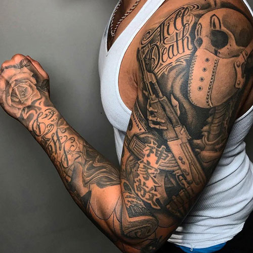 Shoulder Tattoos For Guys – Find Out the Best Image meaning For Your Tattoo