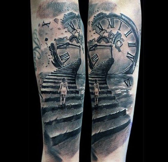 Time Tattoo Ideas For Men