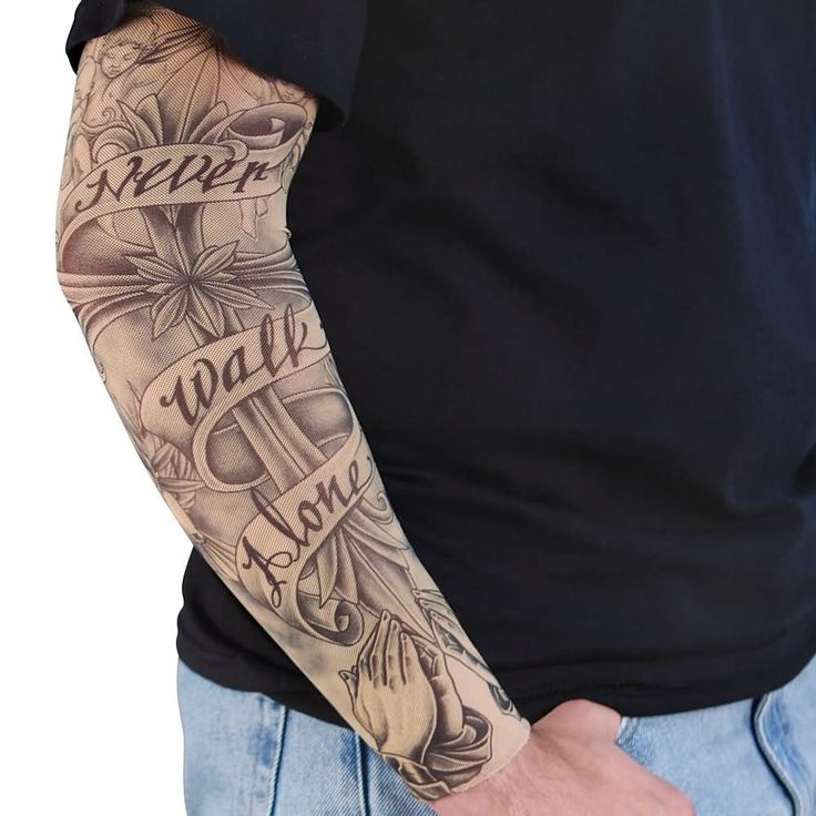 Alone Tattoo Pictures – What Do They Mean?