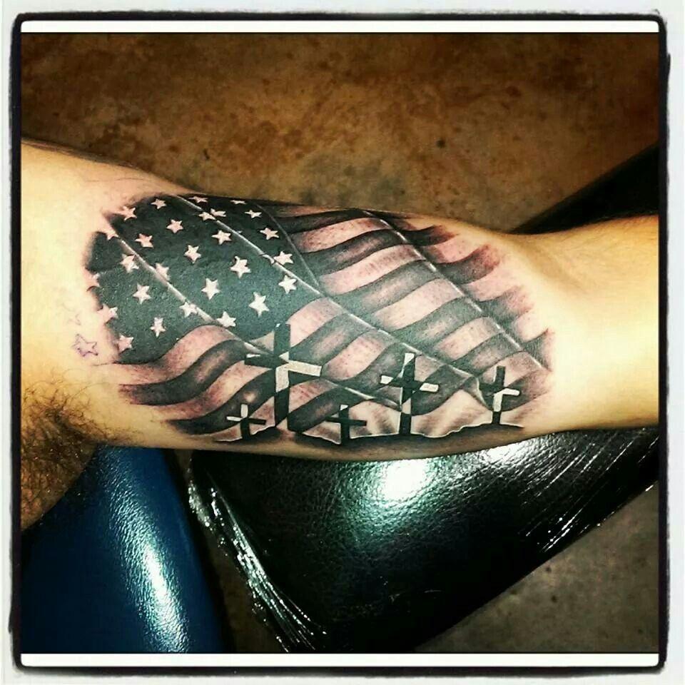 American Flag Forearm Picture design Ideas