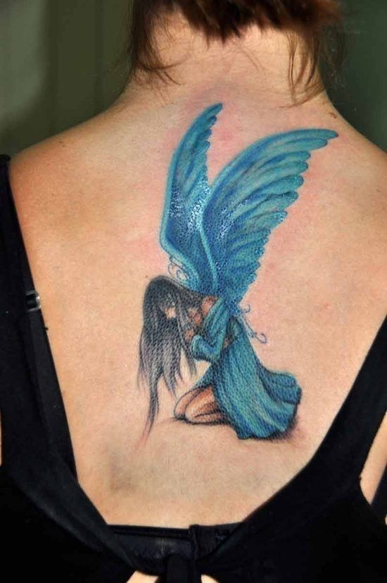 Best Picture design Ideas For Women – Angel Tattoos For Women
