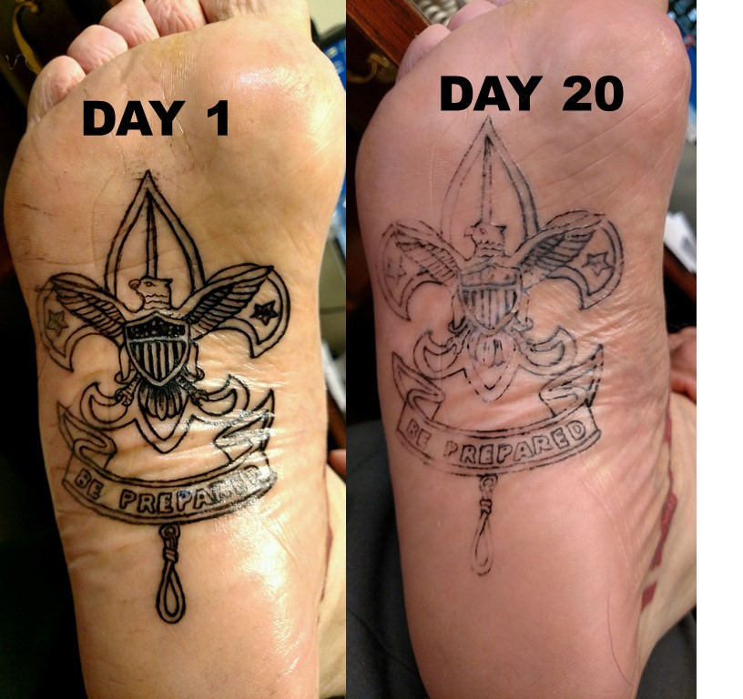 Find Out the Sexy Bottom of Foot Tattoo Pictures and Their Meanings