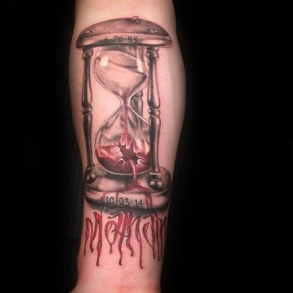 Popular Broken Hourglass Tattoo idea – What You're Girls Want With a Totally Unique Tattoo