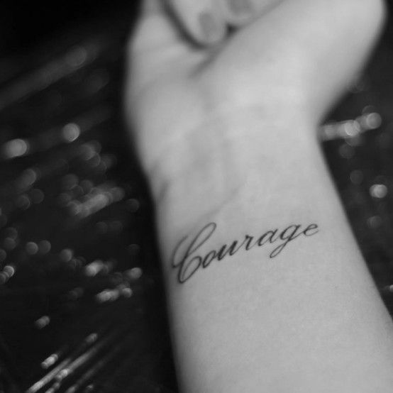 Courage Tattoo Meaning