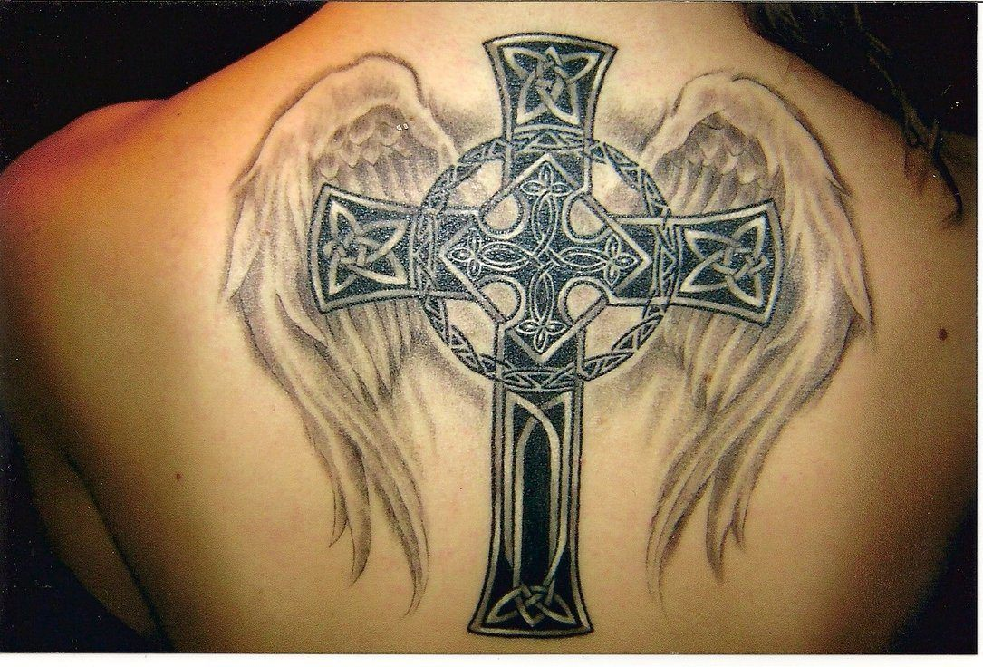 Cross With Wings Image ideas – Great Design For Girls