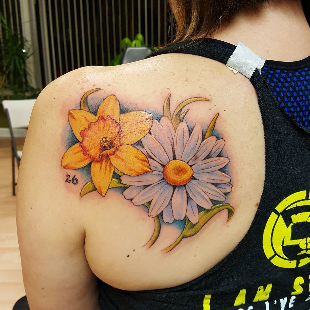 Daisy Flower Tattoo – Popular Picture designs of Today