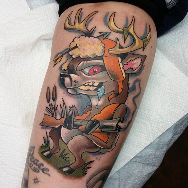 Deer Hunting Tattoos – Tips For Finding the Best Picture design Ideas For Your Body