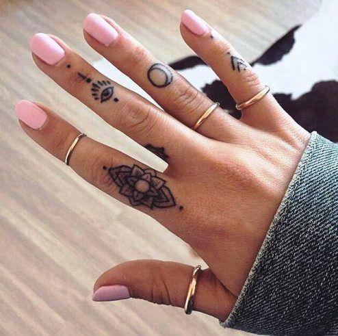 Fingertips For the Best Tattoo designs for Girls on Your Finger