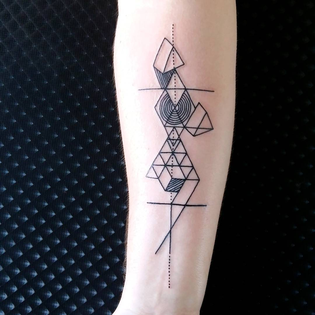 Image meaning – Geometric Pattern Tattoo Pictures