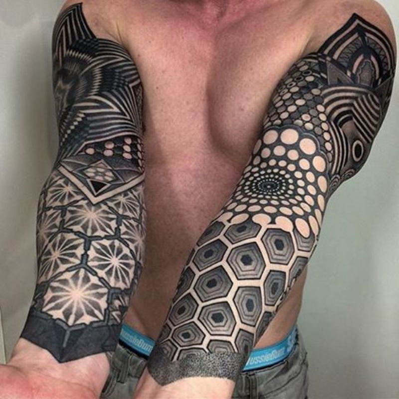 Geometric tattoo Sleeve – Learn How to Find a Great Small Picture design