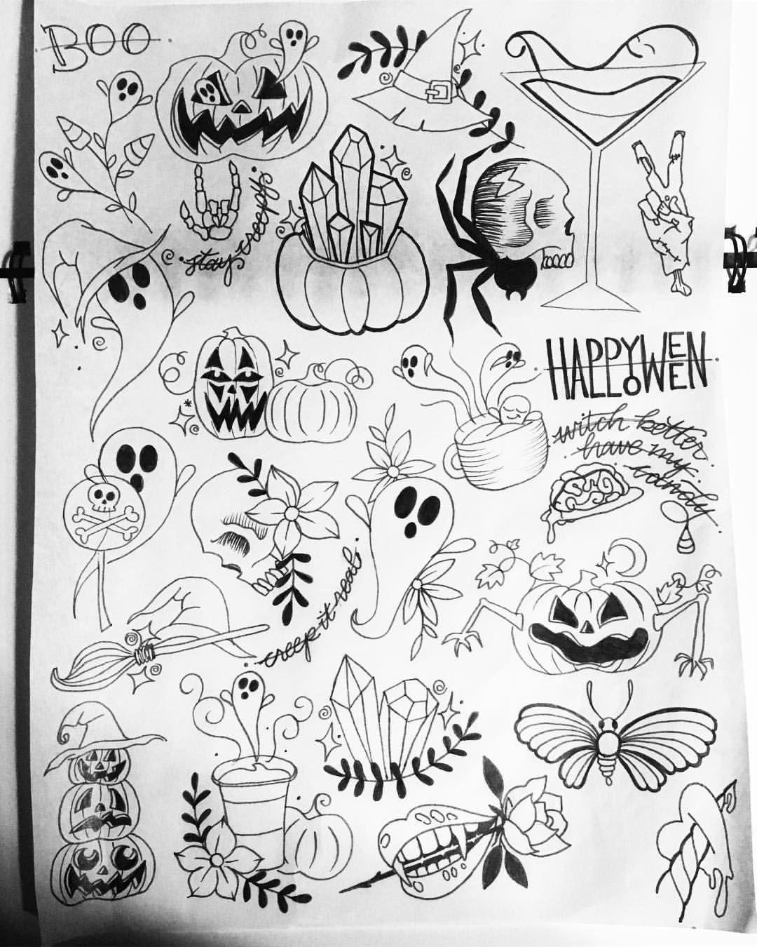 Where To Find Best Halloween tattoo