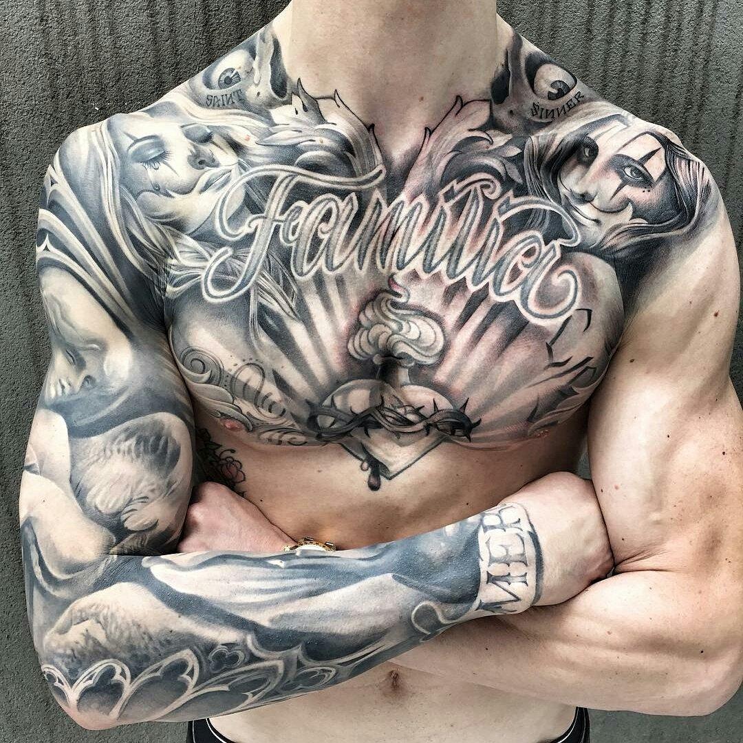 Best latina tattoo Design Ideas For men