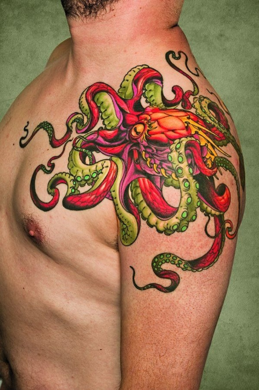 8 Arms of an Octopus Are the Best Picture design Ideas For the Shoulder